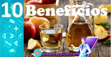 10 Beneficios para la salud del vinagre de manzana