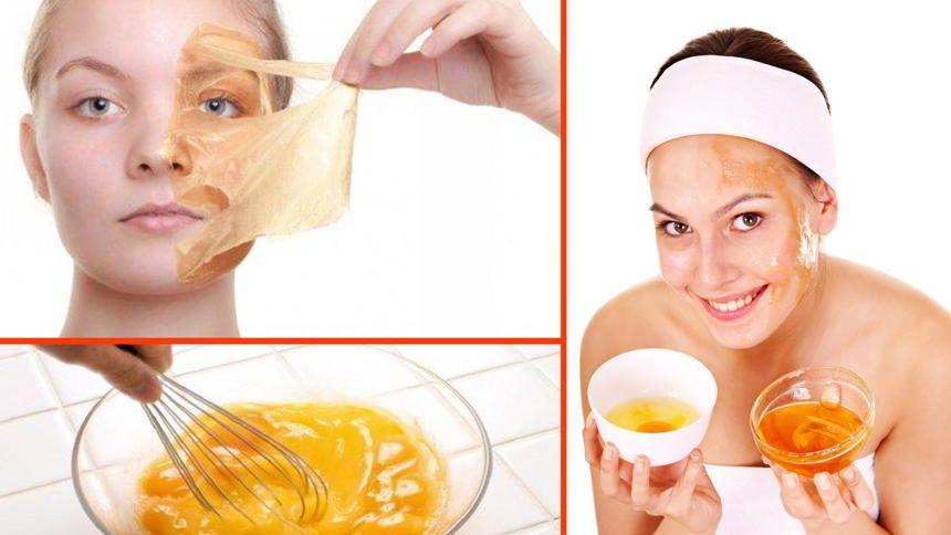 mascarillas con huevo y miel para piel grasa
