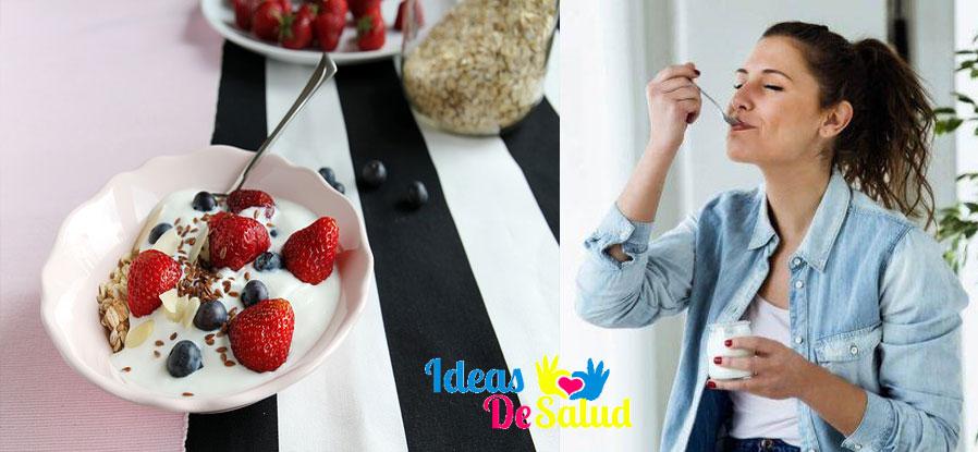recetas para la dieta del yogurt