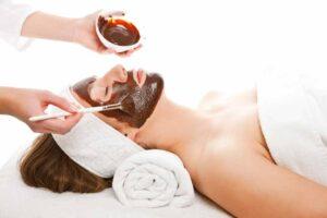 Mascarilla de cacao para el acné