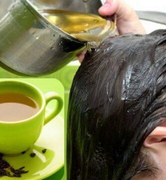 Como usar el Te verde para aclarar el cabello: Beneficios y propiedades