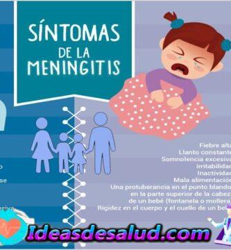 Cuáles son los principales síntomas de la meningitis