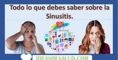 Todo lo que debes saber sobre la Sinusitis