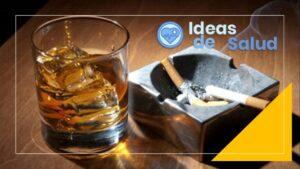 Cigarrillos y bebidas alcohólicas