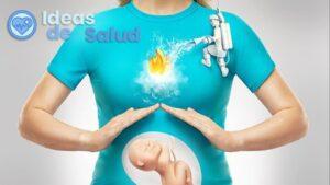 ¿Cómo aliviar la acidez estomacal durante el embarazo?