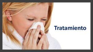 ¿Cuál es el tratamiento para la gripe?