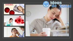 ¿Cuáles son los síntomas de la anemia?