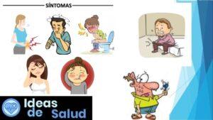 ¿Cuáles son los síntomas de la infección intestinal?