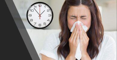 ¿Cuánto tiempo puede durar una gripe?