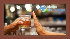 Disminución del consumo de bebidas alcohólicas