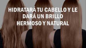 Mascarilla de aceite para el cabello liso