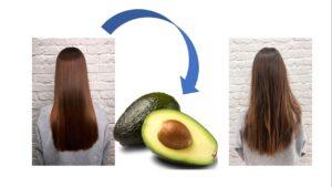 Mascarilla de aguacate para el cabello enredado