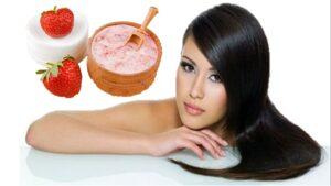 Mascarilla de fresas para el cabello: beneficios