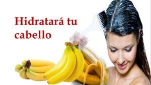 Mascarilla de plátano para fortalecer el cabello
