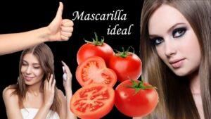 Mascarilla de tomate para revitalizar el cabello maltratado y seco