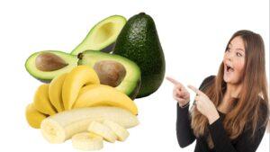 Mascarilla para el pelo encrespado con Plátano y aguacate