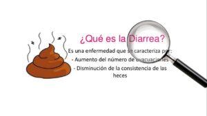 ¿Qué es la diarrea?