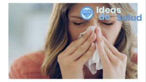 ¿Qué puede causar la tos alérgica?