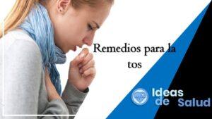 ¿Qué se puede hacer para aliviar la tos seca?